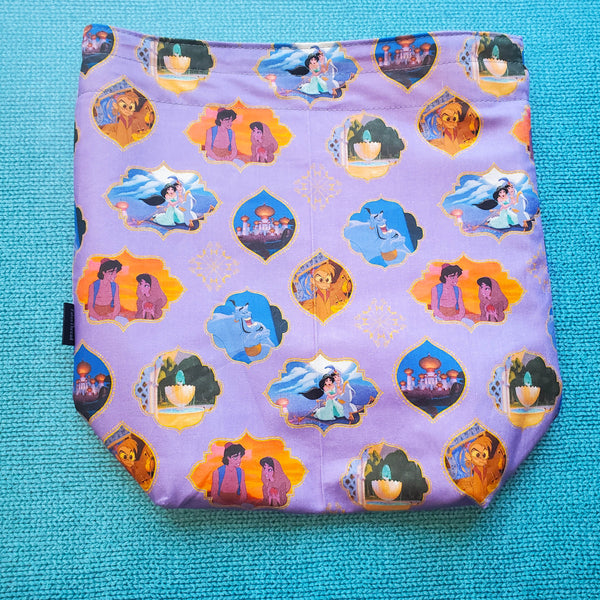 Genie of Agrabah, medium project bag