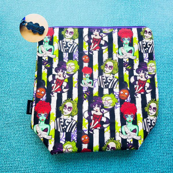 Striped Beetle Movie, small zipper bag