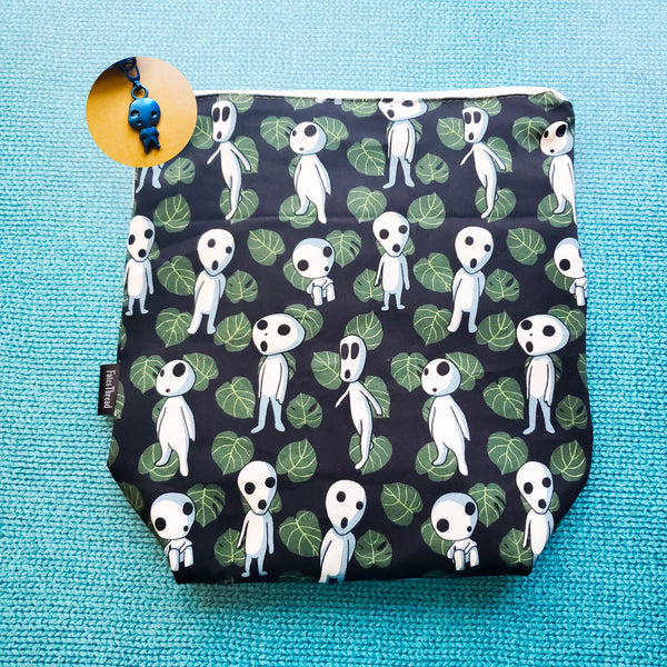 Kodama Tree spirit, Studio, small zipper bag