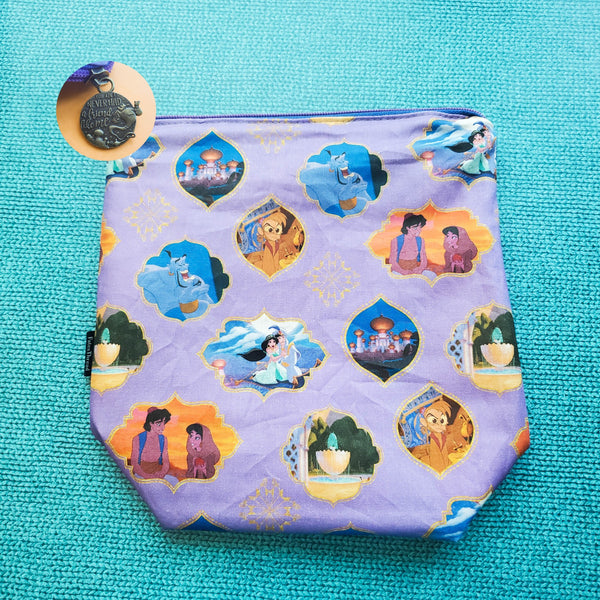 Genie of Agrabah, small zipper bag