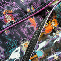 Pin Up Witches, Deluxe Large Bag with Clear zipper pocket