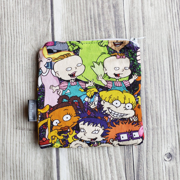 90s Pouch, Notion pouch,  geeky coin purse
