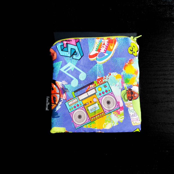 Clearance 90s Notion Pouch, zipper pouch, coin purse