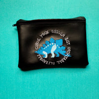 Sudden but inevitable betrayal Notion Pouch, crochet hook case, zipper pouch