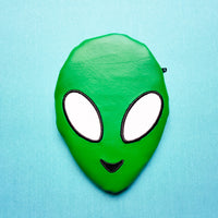 Alien Notion Pouch, crochet hook case, zipper pouch