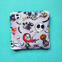 Halloween pouch,  Knitting Notion Pouch, zipper pouch