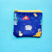 Toaster Knitting Notion Pouch, zipper pouch, coin purse