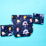 Video game, Cloud pouch, Knitting Notion Pouch