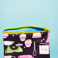 Baking pouch Knitting Notion Pouch, zipper pouch, coin purse