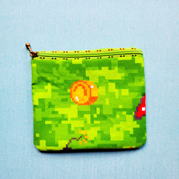 Seconds** Video game,  Knitting Notion Pouch, zipper pouch