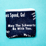 Space Parody, Balls bag Knitting Notion Pouch, zipper pouch