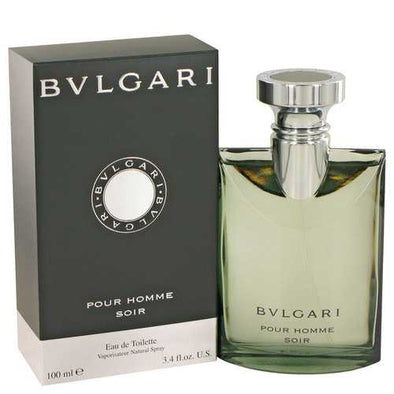 Bvlgari Pour Homme Soir by Bvlgari Eau De Toilette Spray 3.4 oz (Men)