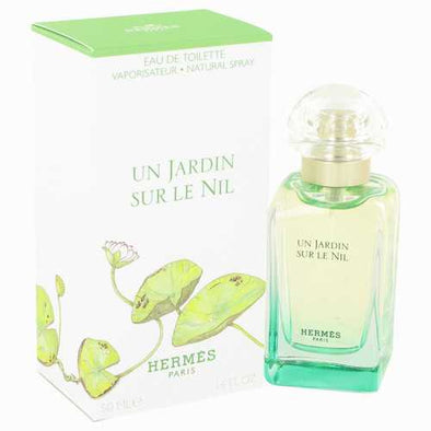 Un Jardin Sur Le Nil by Hermes Eau De Toilette Spray 1.7 oz (Women)