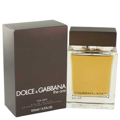 The One by Dolce & Gabbana Eau De Toilette Spray 3.4 oz (Men)
