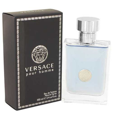 Versace Pour Homme by Versace Eau De Toilette Spray 3.4 oz (Men)