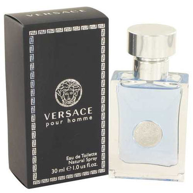 Versace Pour Homme by Versace Eau De Toilette Spray 1 oz (Men)