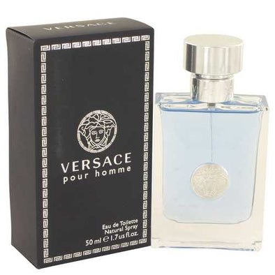 Versace Pour Homme by Versace Eau De Toilette Spray 1.7 oz (Men)