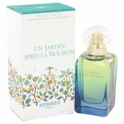 Un Jardin Apres La Mousson by Hermes Eau De Toilette Spray 1.7 oz (Women)