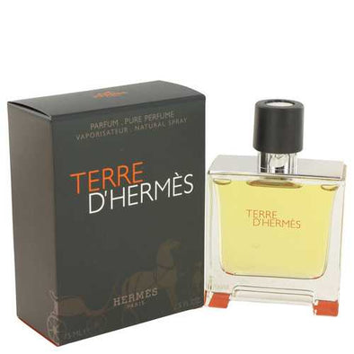 Terre D'Hermes by Hermes Pure Pefume Spray 2.5 oz (Men)