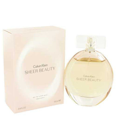 Sheer Beauty by Calvin Klein Eau De Toilette Spray 3.4 oz (Women)