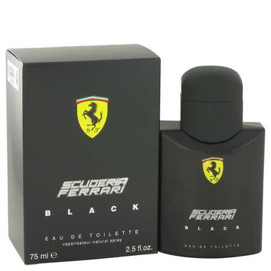 Ferrari Scuderia Black by Ferrari Eau De Toilette Spray 2.5 oz (Men)