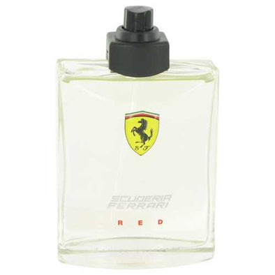 Ferrari Scuderia Red by Ferrari Eau De Toilette Spray (Tester) 4.2 oz (Men)