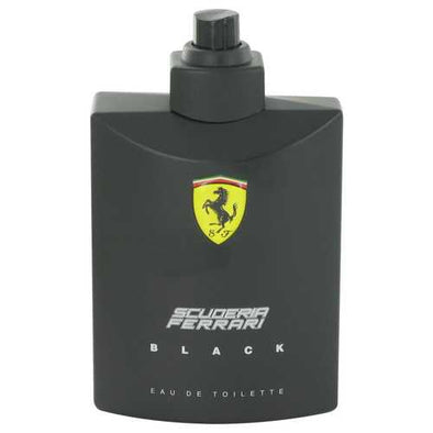 Ferrari Scuderia Black by Ferrari Eau De Toilette Spray (Tester) 4.2 oz (Men)