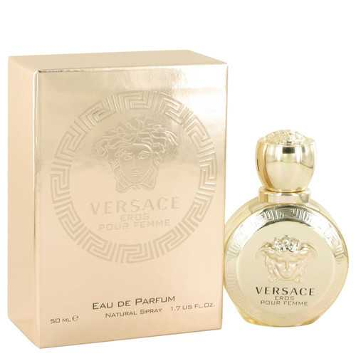 Versace Eros by Versace Eau De Parfum Spray 1.7 oz (Women)