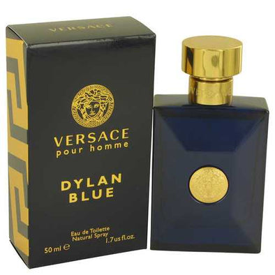 Versace Pour Homme Dylan Blue by Versace Eau De Toilette Spray 1.7 oz (Men)