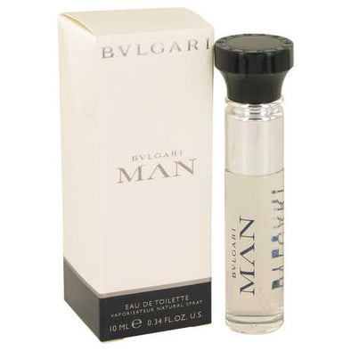 Bvlgari Man by Bvlgari Mini EDT Spray .33 oz (Men)