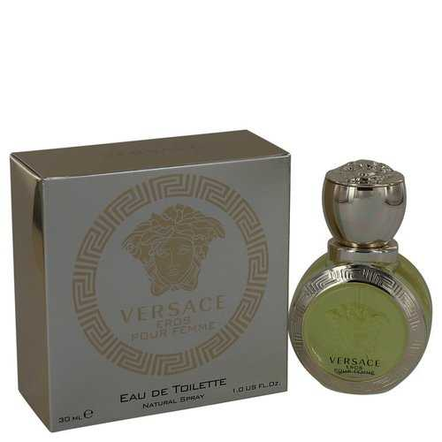 Versace Eros by Versace Eau De Toilette Spray 1 oz (Women)