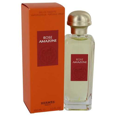 Rose Amazone by Hermes Eau De Toilette Spray 3.3 oz (Women)