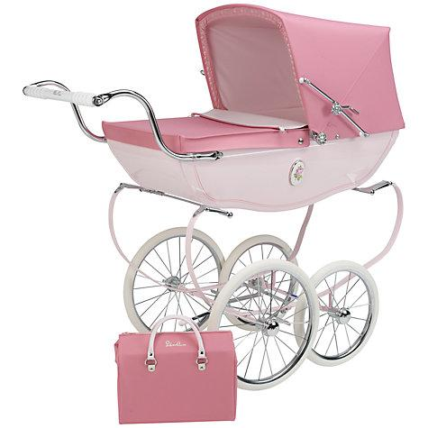 Chatsworth Dolls Pram Pink Rose