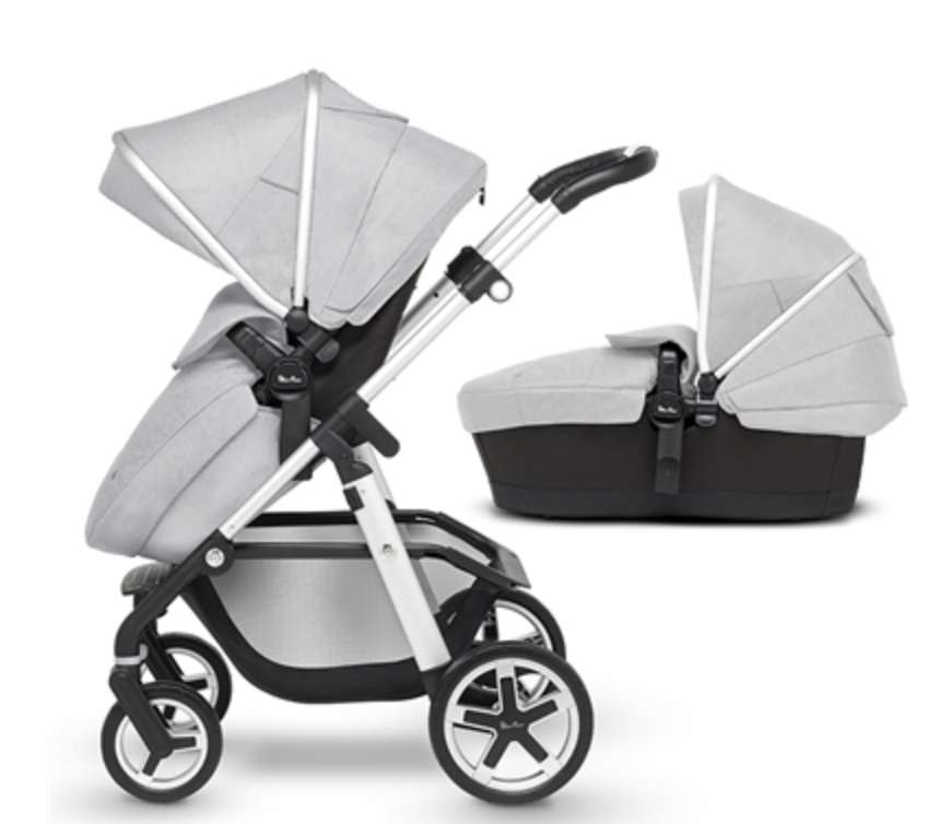 Pioneer with carrycot - Platinum -  DELIVERY JUNE 2020