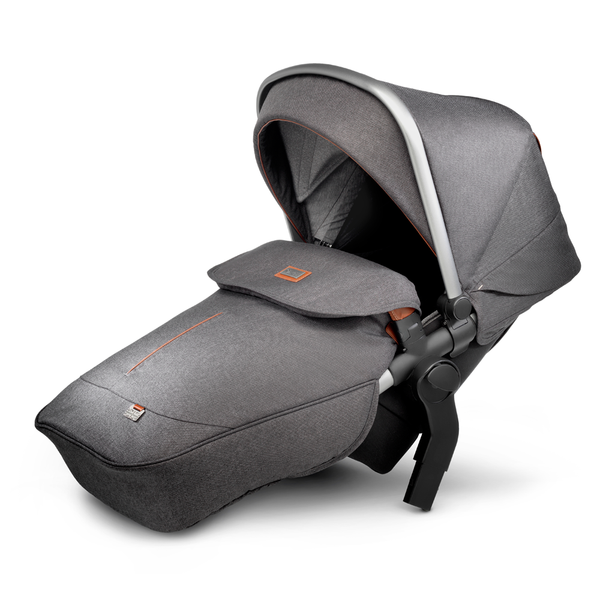 Wave tandem seat - Granite - Pre order due September