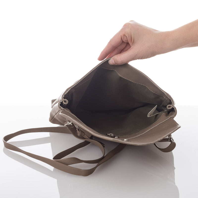 Light Brown Lolita Leather Clutch Bag