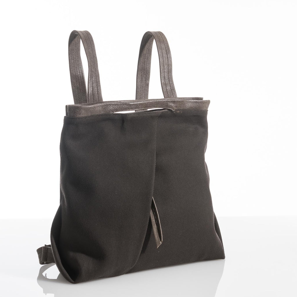Dark Brown Ani Fold Backpack