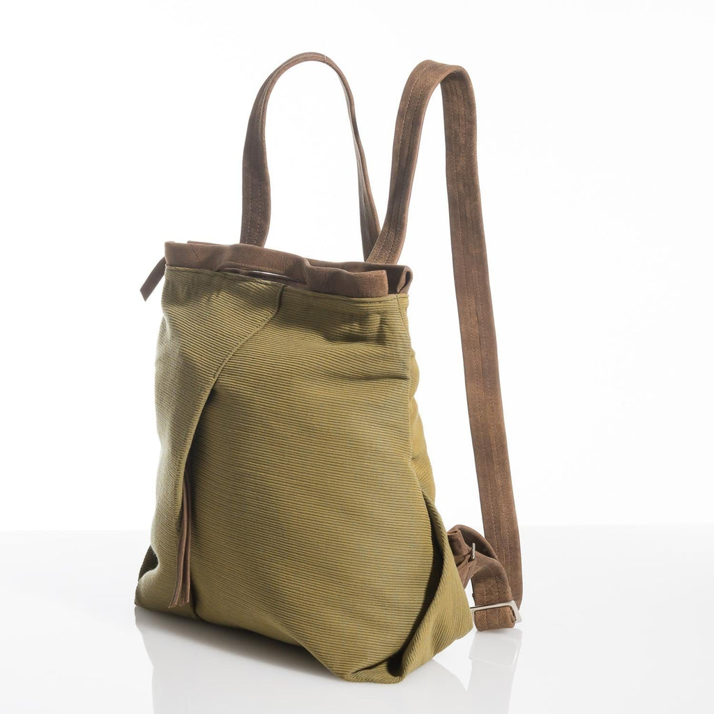 Olive Ani Fold Backpack