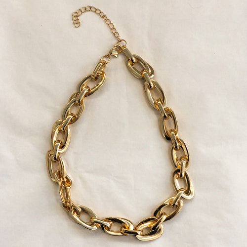 Vintage Chunky Chain Necklace