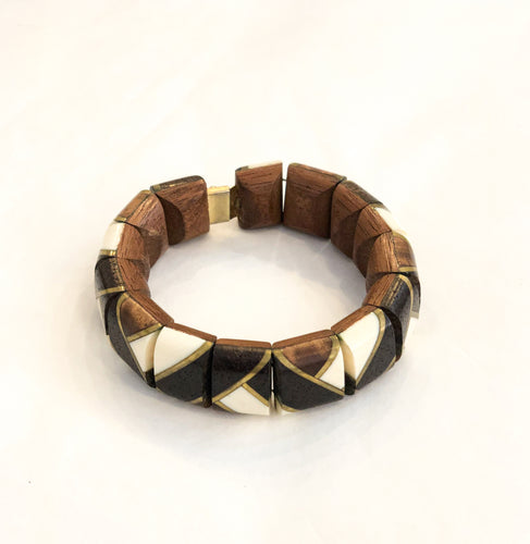 Vintage Backgammon Bracelet