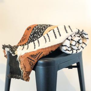 Kendra Striped Throw Blanket