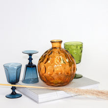 Load image into Gallery viewer, Amber Glass Vase