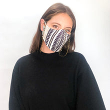 Load image into Gallery viewer, Boho Stripe Mask