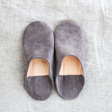 Load image into Gallery viewer, Suede Moroccan Slippers