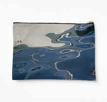 Deep Blue Zipper Pouch