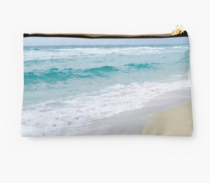 Miami Beach Zipper Pouch
