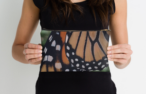 Monarch Butterfly Zipper Pouch
