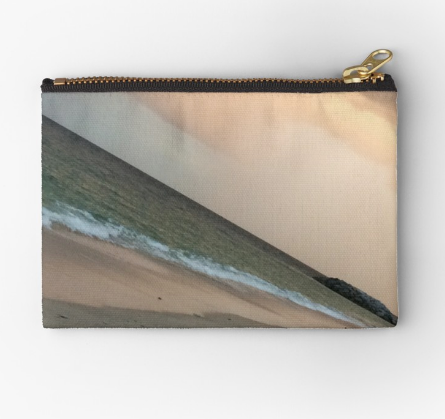 Sunset Beach Zipper Pouch