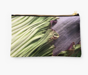 Titan Bloom Zipper Pouch