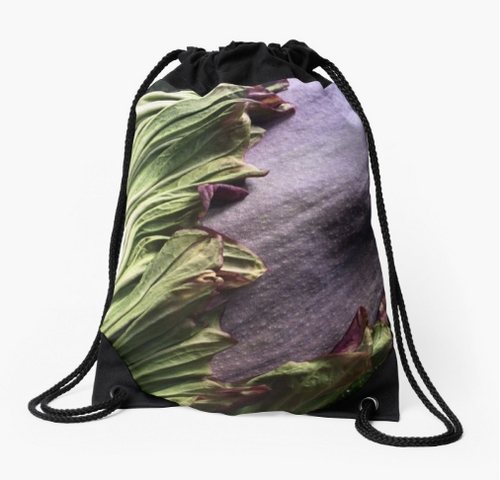 Titan Bloom Drawstring Bag